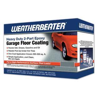 sears garage floor coating weatherbeater epoxy garage floor coating silver gray