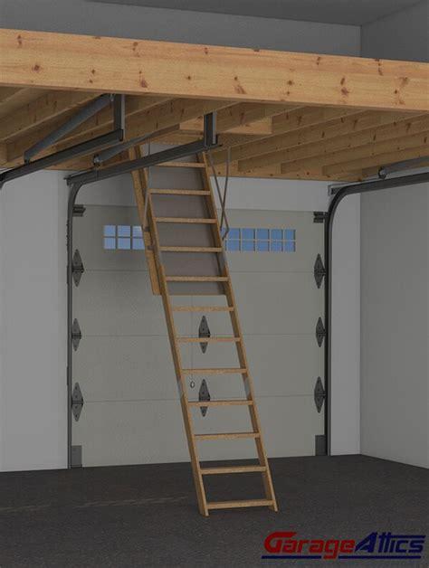 94+ Garage Loft Stairs  Retractable Garage Stairs, Finish