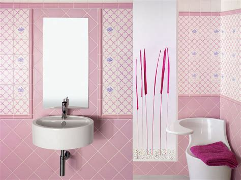 Badezimmer Fliesen Rosa by 40 Vintage Pink Bathroom Tile Ideas And Pictures