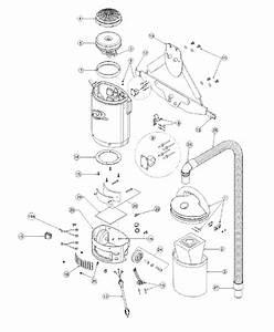 Proteam Sierra Backpack Vacuum Model Rpt100 Parts List