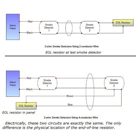 Diagram 2wire Telephone by Smoke Detector Wiring Connecting Runs