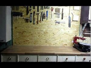 Werkzeugwand Selber Bauen : bau einer werkzeugwand und arbeitsfl che youtube ~ Watch28wear.com Haus und Dekorationen