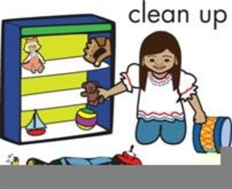 Clean Up Clipart Children Picking Up Toys Clipart Free Images At Clker