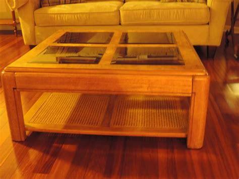 square coffee table with glass insert oak coffee table kanata ottawa