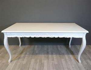 Table Salon Blanche : table baroque blanche meuble baroque ~ Teatrodelosmanantiales.com Idées de Décoration