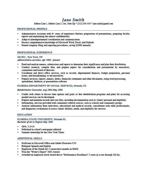 resume template johansson dark blue geography resume profile exles resume profile