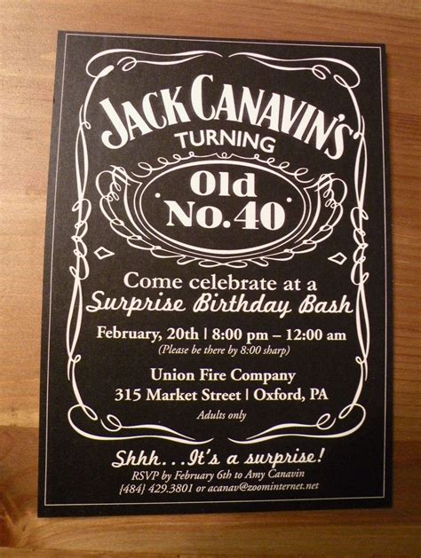 How to Create 50th Birthday Invitations for Him Ideas More