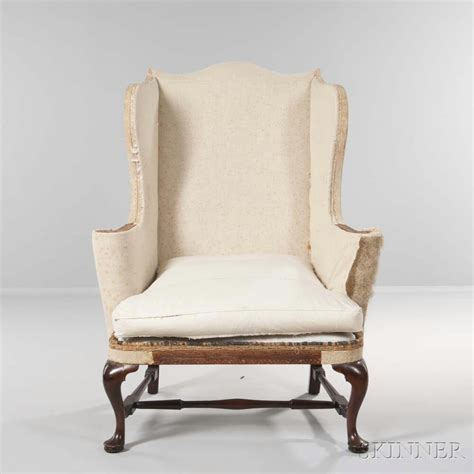 Easy Chair Upholstery by Upholstered Mahogany Easy Chair Sale Number 2985b Lot