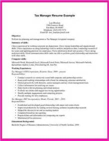 international tax manager resume tax manager resume exle