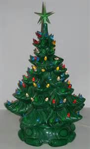 Atlantic Mold Ceramic Christmas Tree by Vintage Lighted Ceramic Christmas Tree 18 By Diantiques On