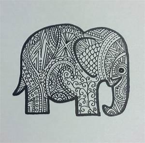 elephant doodle | Drawing/Painting | Pinterest | Elephant ...