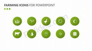 Farming Icons For Powerpoint