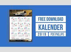 Kalender Indonesia 2019 Lengkap PDF, JPG, PNG, HD