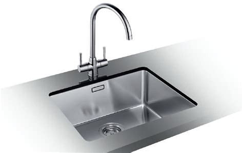 Blanco UND 543 sink and tap pack
