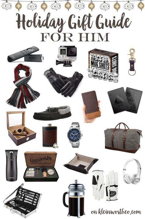 holiday gift guide for him kleinworth co