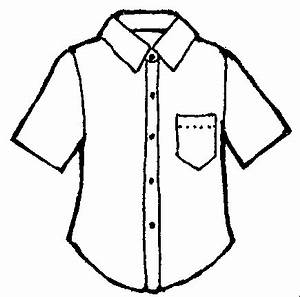 Black And White Hawaiian Shirt Clip Art | Clipart Panda ...