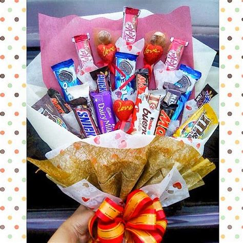 mirza simply craft doorgift bajet bouquet coklatcandy