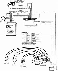 1994b4000schematic Of Coil Pack Wiring Harness Which Wire Should Be Hot Out Of Coil Pack