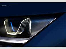 BMW to introduce BMW Laserlights and OLED technology