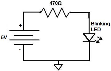How Build Blinking Led Circuit