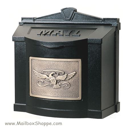 wall mount mailbox gaines eagle wall mount mailbox 4612