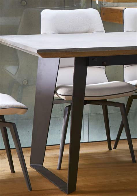 dining room goals  trending concrete  stone dining