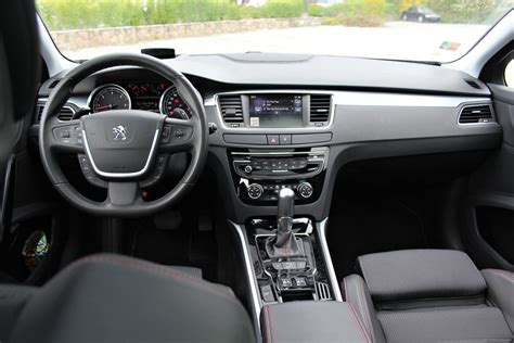 peugeot 508 interior test peugeot 508 sw gt auto journal