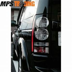 Land Rover Discovery 4 Rear Black Led Tail Light Lamps