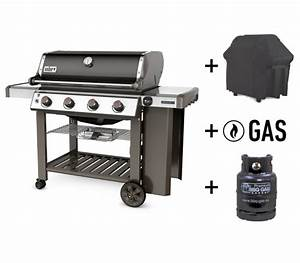 Gasflasche Grill 5kg : weber set genesis ii e 410 gbs gasflasche gas h lle black gasgrill grill bellandris ~ Orissabook.com Haus und Dekorationen
