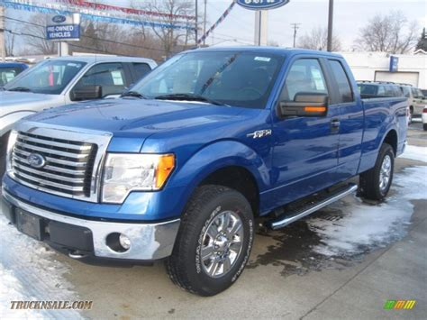 2011 Ford F150 XLT SuperCab 4x4 in Blue Flame Metallic