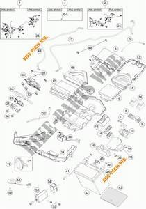 Faisceau Electrique Pour Ktm 1290 Super Duke R White De