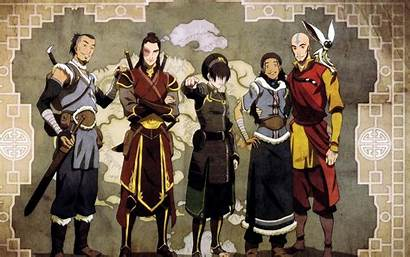 Avatar Airbender Last Aang Wallpapers Katara Team