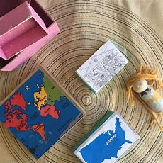 Nesting Box Missions Craft For Kids  Grace And Wondering