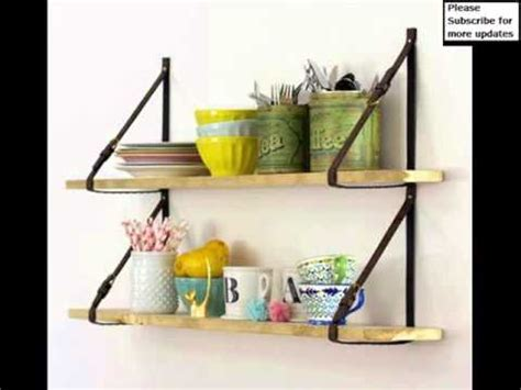 diy kitchen shelving ideas wall shelves picture