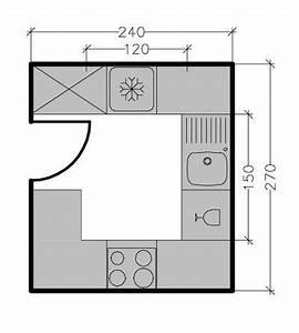 Petite cuisine : tous les plans de petites cuisines jusqu'à 6 m² Côté Maison