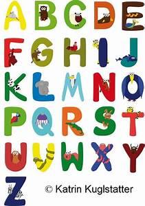 Buchstaben Für Kinderzimmertür : tierbuchstaben aufkleber klebmis webseite ~ Orissabook.com Haus und Dekorationen