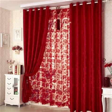 achetez en gros rouge rideaux pour chambre en ligne 224 des