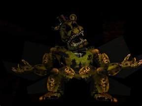 Golden Nightmare Freddy
