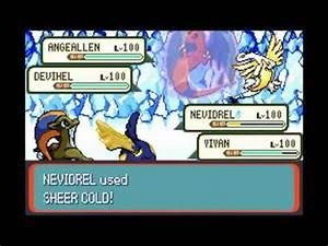 Pokémon Ruby Destiny - Life of Guardians Event The End Of ...