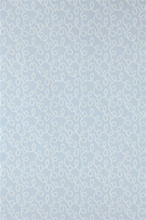 vermicelli  farrow ball pale blue wallpaper direct