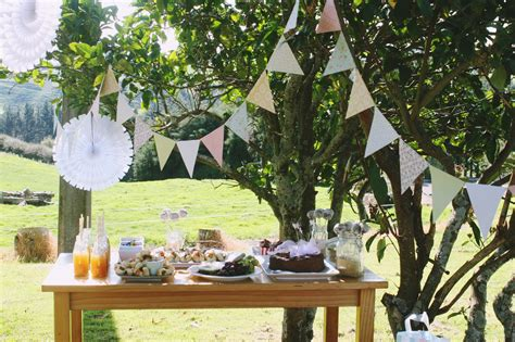 deco de fete garden ideas design or breakfast
