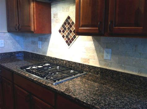 Brown Granite Countertops With Backsplash : What Backsplash Goes With Baltic Brown