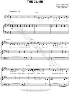the climb from montana the sheet by the climb sheet by miley cyrus sheet