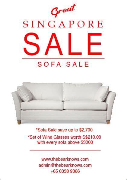 Furniture Sale by Scandinavian Furniture Sale Poster On Behance Design