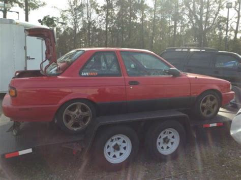nissan sentra race car find used 1992 nissan sentra se r project race car in