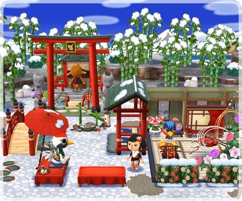 campsite   snow covered zen garden jan
