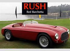 Red Barchetta RUSH Pinterest