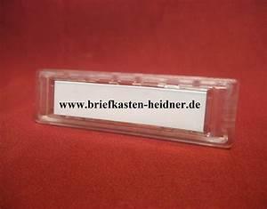 Namensschild Für Briefkasten : et03 namensschild f r briefkastenanlagen 16697 ~ Whattoseeinmadrid.com Haus und Dekorationen