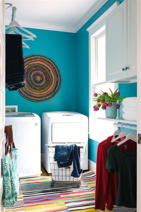 Diy Laundry Room Decor - 10 easy budget friendly laundry room updates hgtv s
