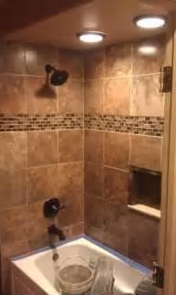 nice    lighting shower tile designs modern